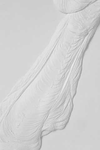 untitled (plaster positive) [detail] by anthony pearson